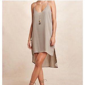 Anthropologie CLOTH & STONE SPAGHETTI HI-LO DRESS